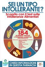 Test sulla Intolleranze Alimentari